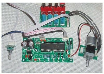 Assembled Remote Volume Control Preamp board with ALPS pot