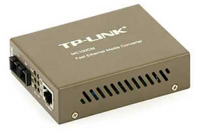 LWL Media Converter TP-LINK MC100CM - 100 Mb/s, Multimode, SC bis 2 km