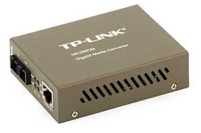 LWL Media Converter TP-LINK MC200CM - 1000 Mb/s, Multimode, SC bis 550 m