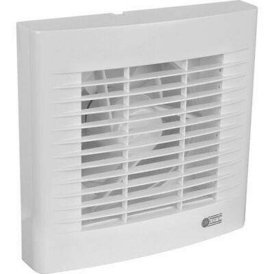 "Airvent White Kitchen Standard Extractor Fan 6"" 150mm - Made At Vent Axia"