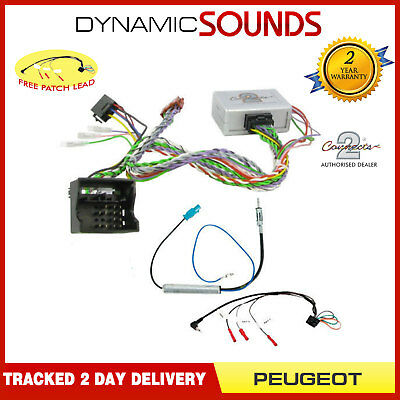 Steering Control & Reverse Sensor CANBUS Interface For Peugeot 407 607 3008
