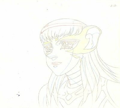 Anime Genga not Cel Escaflowne #1