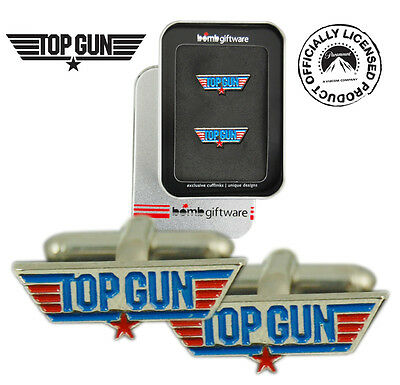 Top Gun Boutons de manchettes officiels Tom cruise top gun dans boite collector