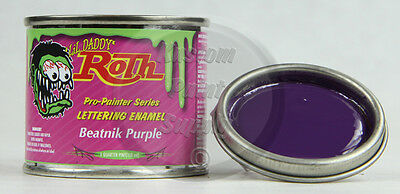 1/4 Pint - Lil' Daddy Roth Pinstriping Enamel - Beatnik Purple