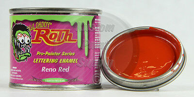 1/4 Pint - Lil' Daddy Roth Pinstriping Enamel - Reno Red