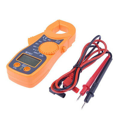 Handy LCD Auto Digital Clamp Multimeter Electronic Tester AC/DC Clamp Meter Tool