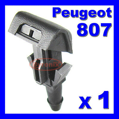 Peugeot 807 Front Windscreen Washer Jet Nozzle