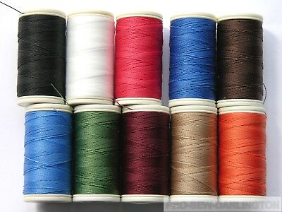 Nylbond Extra Strong Fine Thread ( Choice Of 34 Colours )