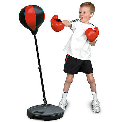 Boxing Kit Training Junior Kids Children Toys Punch Ball With Gloves Toyrific