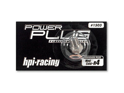 1503 HPI Racing Power Glow Plug Medium-Cold R4