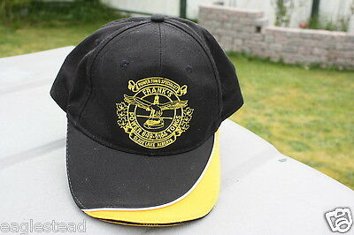 Ball Cap Hat - Frank's Power Tongs Slave Lake Alberta Eagle Oil Rig Drill (H778)