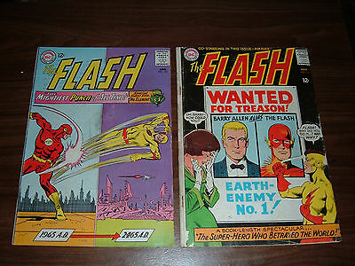 Flash 153-190 nice run!--lot of 32 comic books