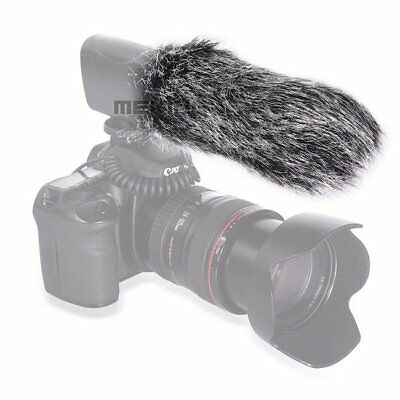 18cm Microphone Windshield Fur Muff Windscreen For Mic121 Camera Recorder