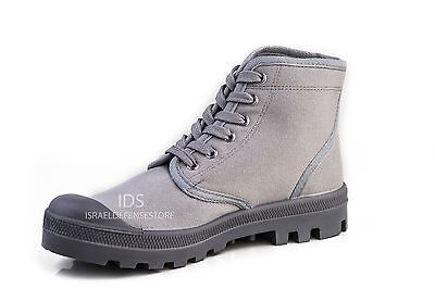 IDF Israel Defense Forces Scout Commando Palladium Style GRAY Boots US9.5 / EU43