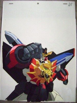 King Of Braves Gaogaigar Anime Production Cel