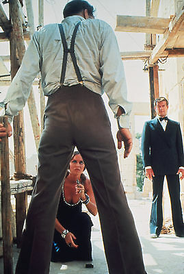 """Roger Moore Barbara Bach James Bond The Spy Who Loved Me 8x10"""" Photo #C170"""