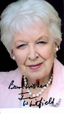 June Whitfield signed 6x4 photo / autograph