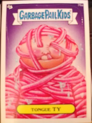 Garbage Pail Kids 2013 Series 2 #76a Tongue Ty MINT Card / Sticker