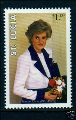 St Lucia 1998 Diana Commemoration SG 1179 MNH