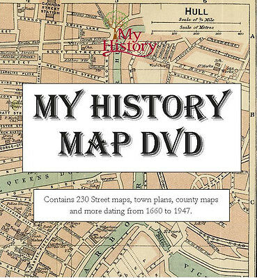 My History Historical maps DVD