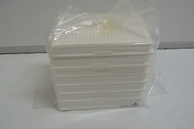 New Pack Of 7 Corning 3570 384 Well Microplate Low Flange White Flat Bottom  Wit