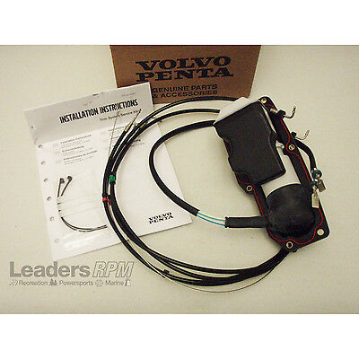 Volvo Penta New OEM Power Trim/Tilt Pump Actuator Motor Assembly SX,DPS 21945915