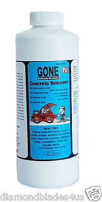 Clean Tools Trucks W/ concrete build up concrete remover gone eco safe 32oz
