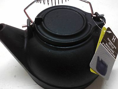 Cast Iron Tea Kettle. Fireplace humidifier New in box