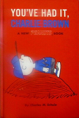 Peanuts - You've Had It, Charlie Brown by Charles Schulz - SCARCE Hardcover 1969