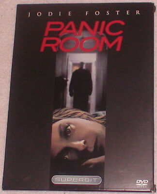 DVD Panic Room Jodie Foster Forest Whitaker Suspense Thriller R Color 112 Mins