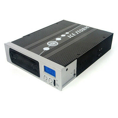 "EverCool HDAC 5.25in Bay HDD Hard Drive Temperature Display Cooler for 3.5"" HDD"