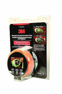 3M 39008 New Headlight Lens Restoration Cleaning System Head Light Cleaner