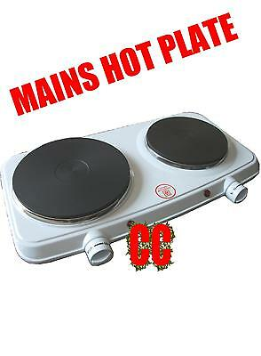 mains 240v SINGLE ELECTRIC HOB HOT PLATE HOTPLATE 1500W cooker portable Camping