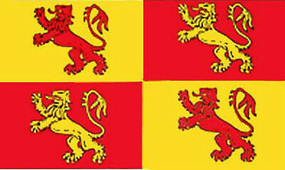 8' x 5' OWAIN GLYNDWR FLAG Welsh Wales Extra Large Funeral Coffin Drape