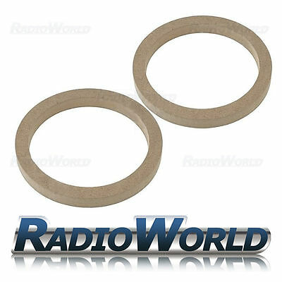 "6.5"" 165mm MDF Speaker Spacer Mounting Rings 18mm Thick ID 144mm ED 176mm Pair"