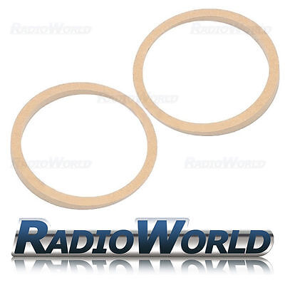 "6.5"" 165mm MDF Speaker Spacer Mounting Rings 1-16mm Thick ID 144mm ED 166mm Pair"