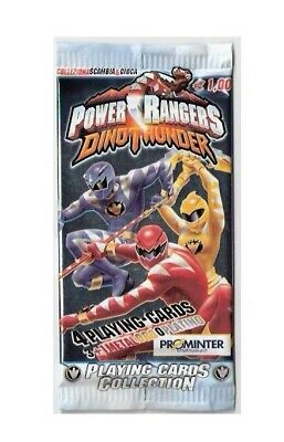 Power Rangers Dinothunder Cards Lotto 30 Bustine Prominter