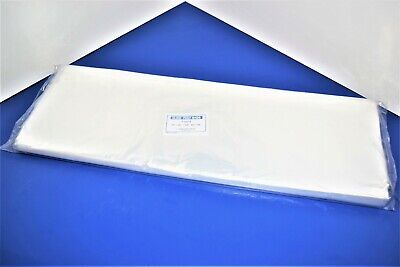 100 CLEAR 20 x 20 POLY BAGS PLASTIC LAY FLAT OPEN TOP PACKING ULINE BEST 1 MIL