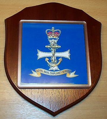 Royal Navy Chaplaincy Service Wall Plaque personalised