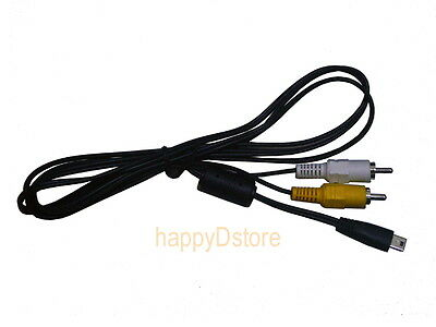 AV Cable for Canon Powershot SX130 SX210 SX30 IS G12 SD4500