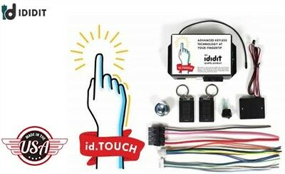 Ididit 2600670100 Touch-N-Go Keyless Ignition System