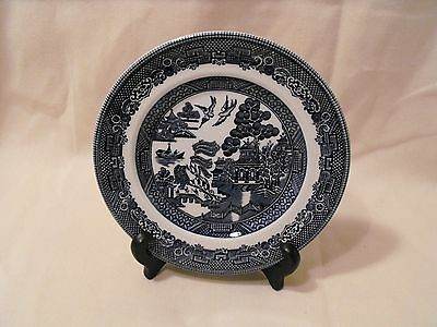Johnson Brothers   Blue Willow Bread Butter Plate  Made in England  No. 30