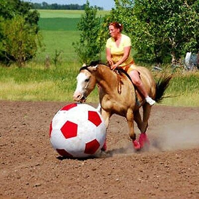 Horse Training Soccer Ball Replacement Bladder PLUG NEW White Training Tack