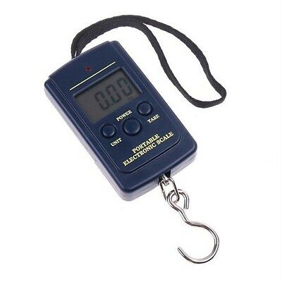 LCD Display 40kg Portable Digital Hanging Crane Scale Hanging Luggage Scale