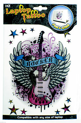 Wholesale Job Lot 12 x Peel & Stick Laptop Tattoo Skins ROCKER Design NEW