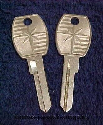 NOS Trunk Glove Secondary Key Blank Lincoln 56 57 58 59 60