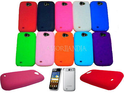 CUSTODIA COVER IN SILICONE PER SAMSUNG GALAXY WONDER W I8150 GEL SILICONE CASE