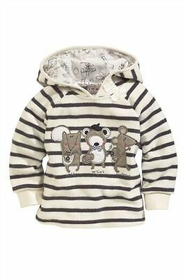 Bnwt NEXT PREVIEW A/W 2013/14 Gorgeous Bear Mouse Hooded Fleece Top 2-3-4-5 yrs