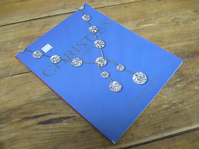 Christies England Auction Catalog London Important Jewellry Weds June 16 2004