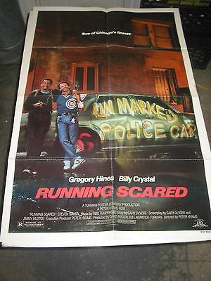 Running Scared/orig. U.s. One Sheet Movie Poster (Billy Crystal)